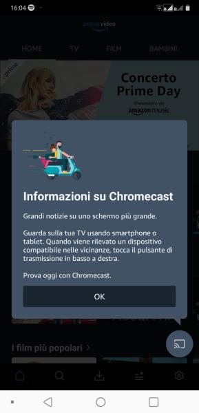 Amazon Prime Video supporta Chromecast e YouTube torna finalmente su Fire Stick e Fire TV 1