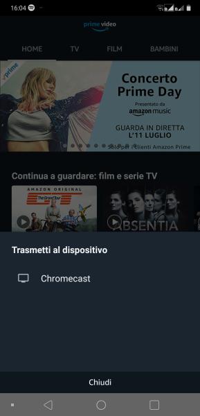 Amazon Prime Video supporta Chromecast e YouTube torna finalmente su Fire Stick e Fire TV 2