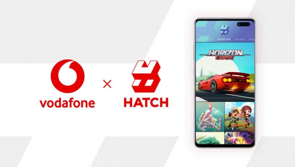 Vodafone cloud gaming Hatch 5G