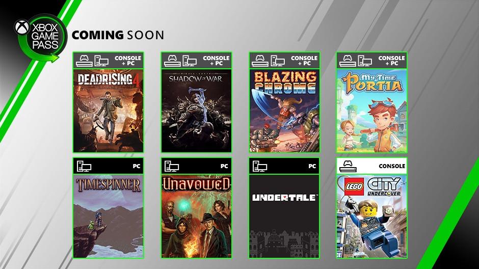 Xbox Game Pass luglio 2019
