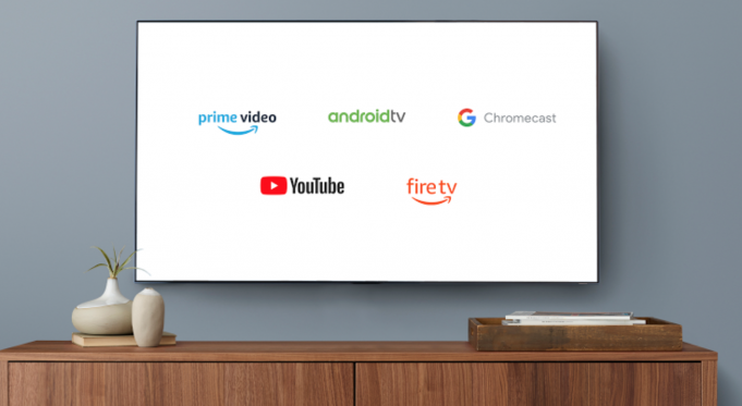 YouTube su Fire TV e Amazon Prime Video su Chromecast