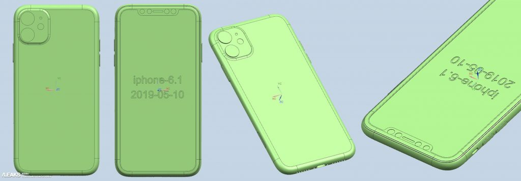 In Rete i disegni CAD di iPhone XI, iPhone XI Max e iPhone XIR 2