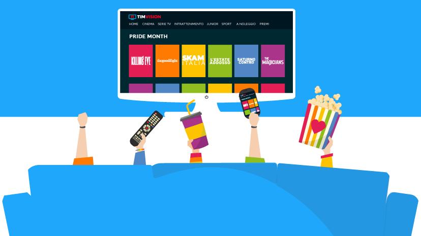 I canali Mediaset visibili ufficialmente su TIMvision 1