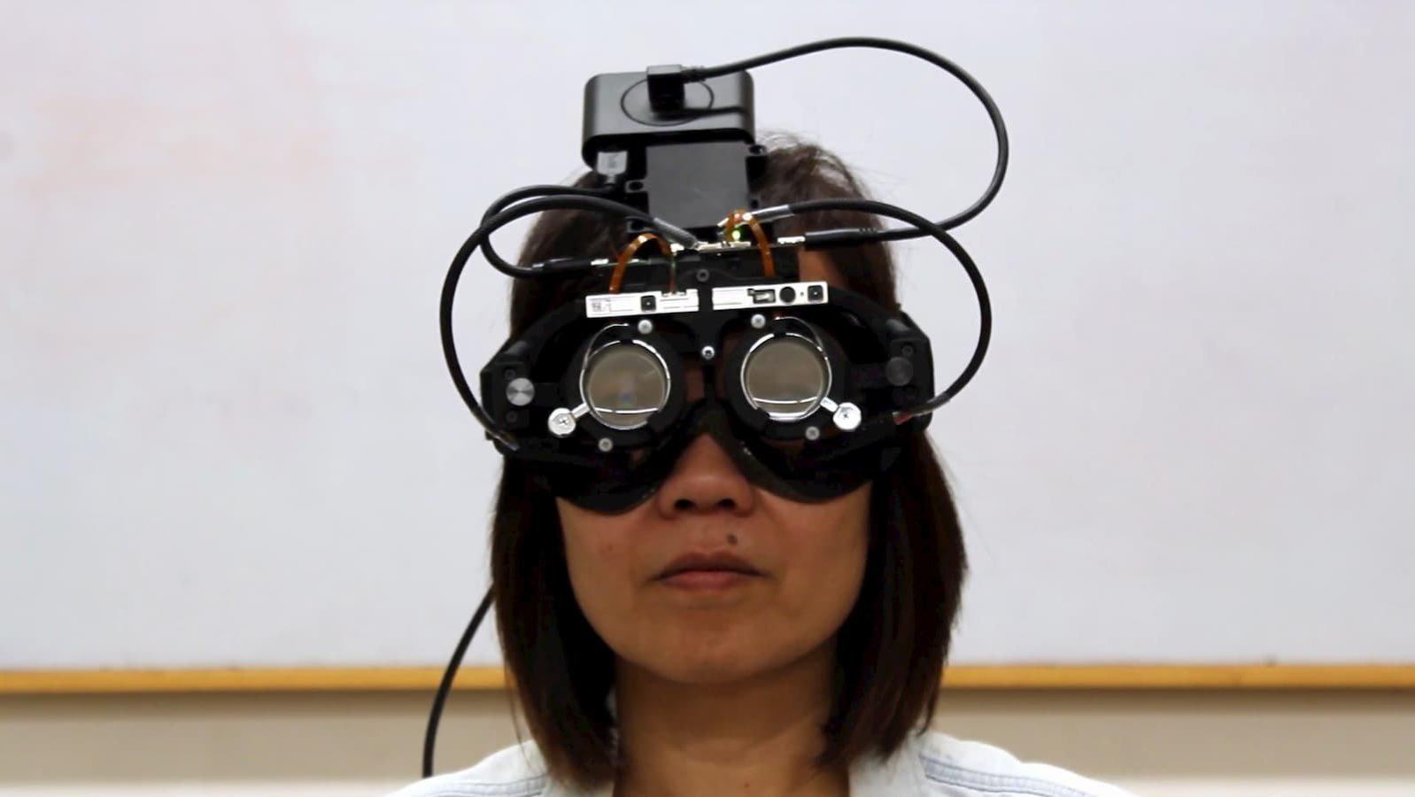 tracciamento occhi