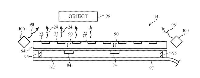 Apple dirà addio al notch integrando i sensori del Face ID sotto un display semi trasparente 2