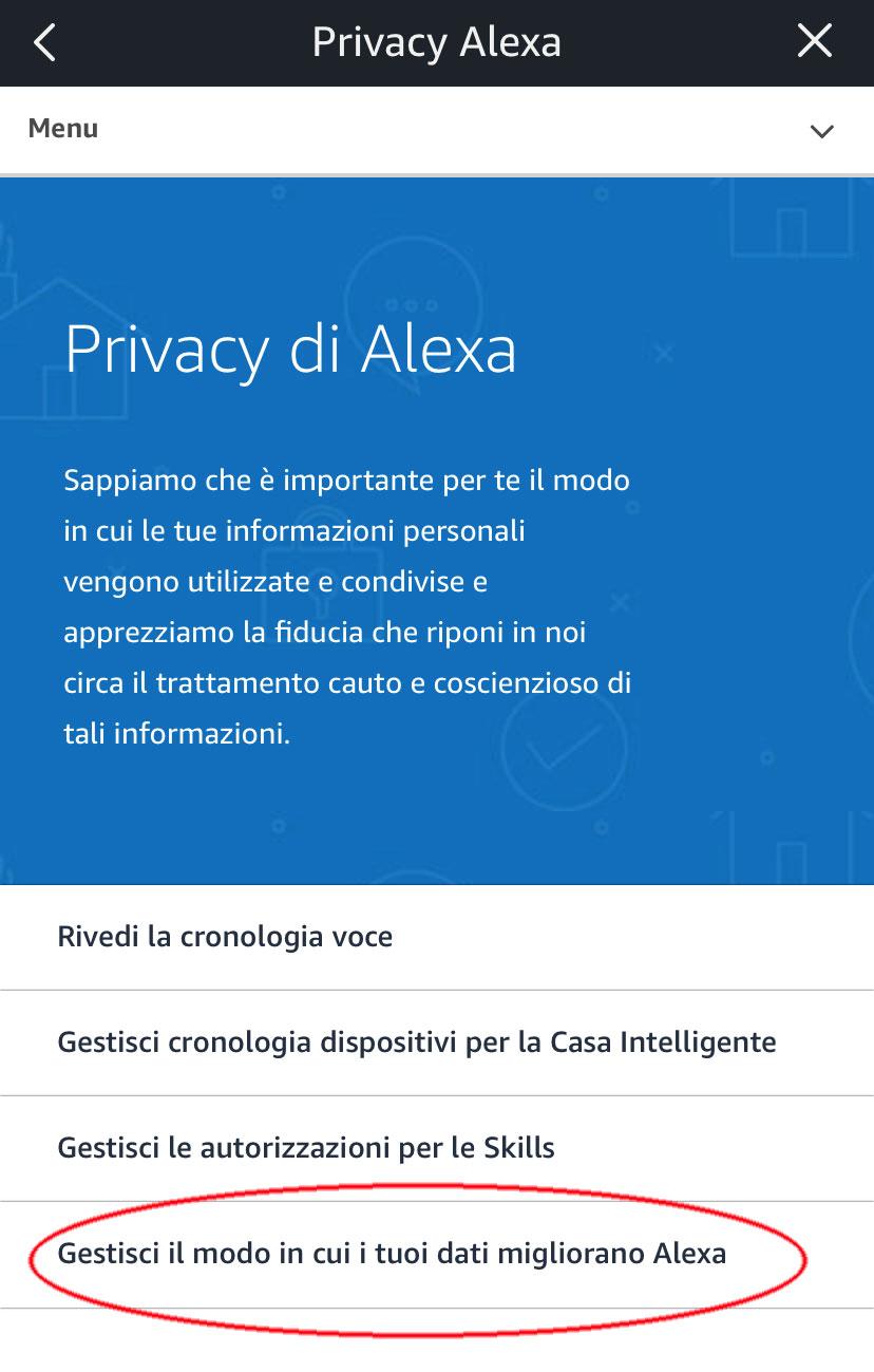 Come cancellare le registrazioni di Alexa e come evitare di essere ascoltati 1