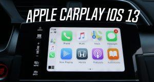 Apple CarPlay iOS 13