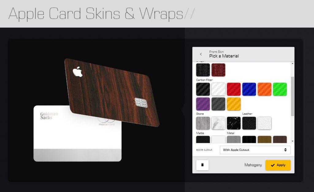 L'Apple Card vi sembra noiosa? Ora sono disponibili le skin Dbrand 1