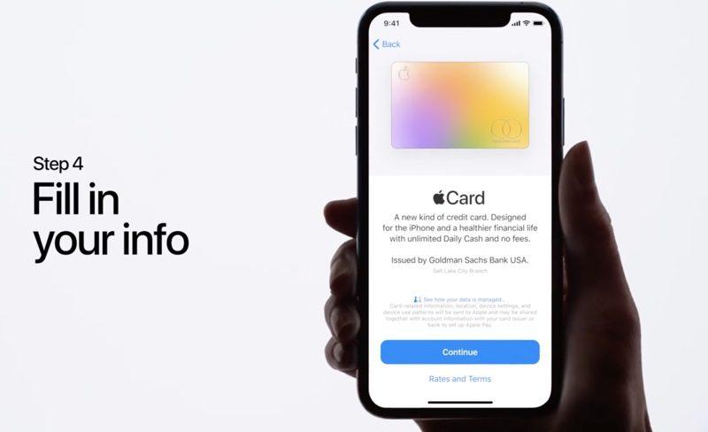 Apple Card già nelle mani di alcuni utenti 1
