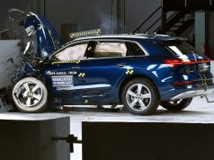 Audi E-Tron crash test