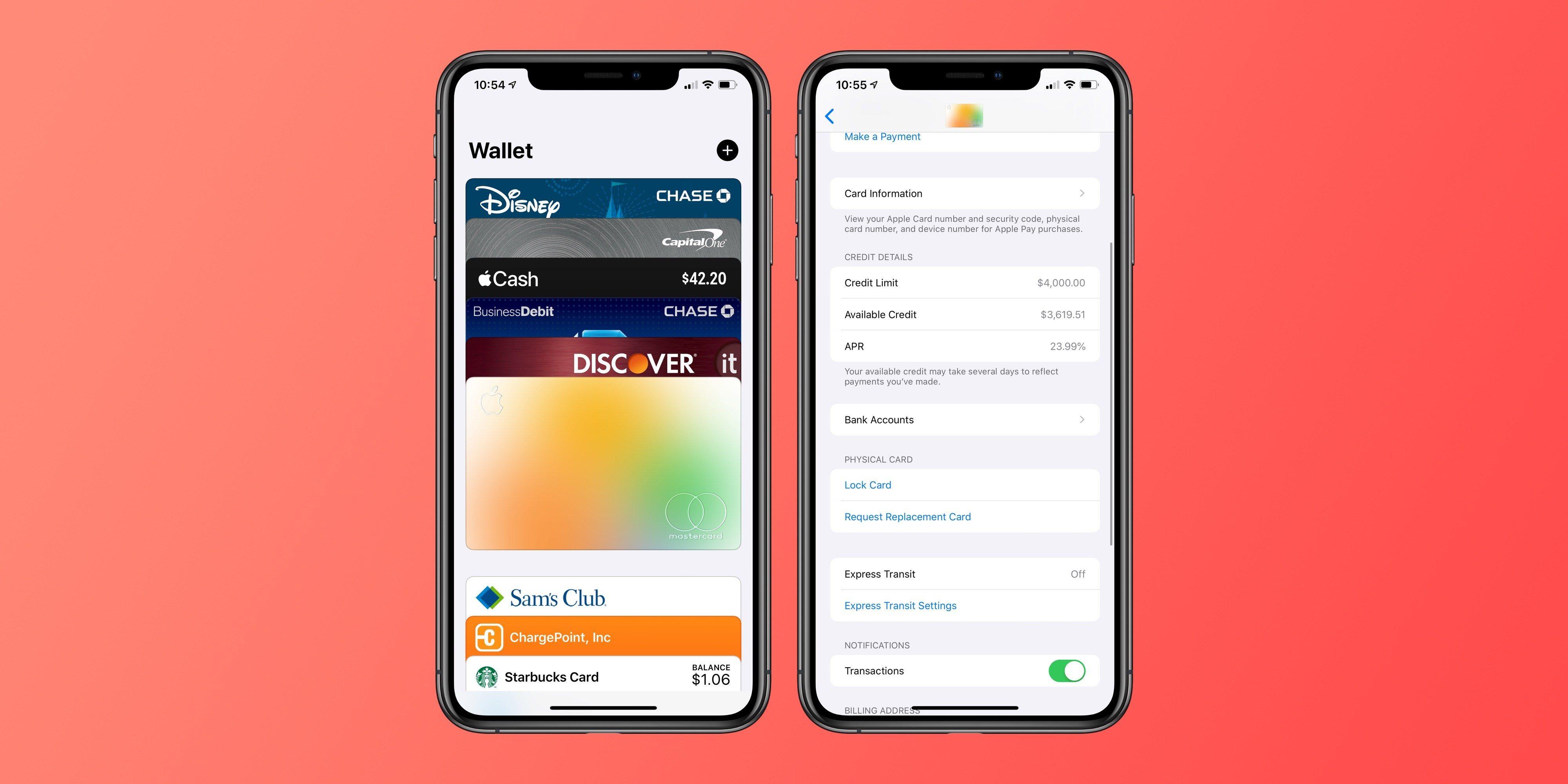 Come bloccare la Apple Card dall'app Wallet 1