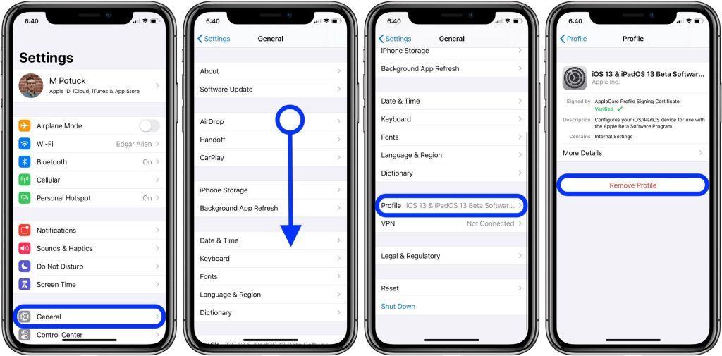 Stanchi della beta di iOS 14? ecco come effettuare il downgrade e tornare alla stabile 1