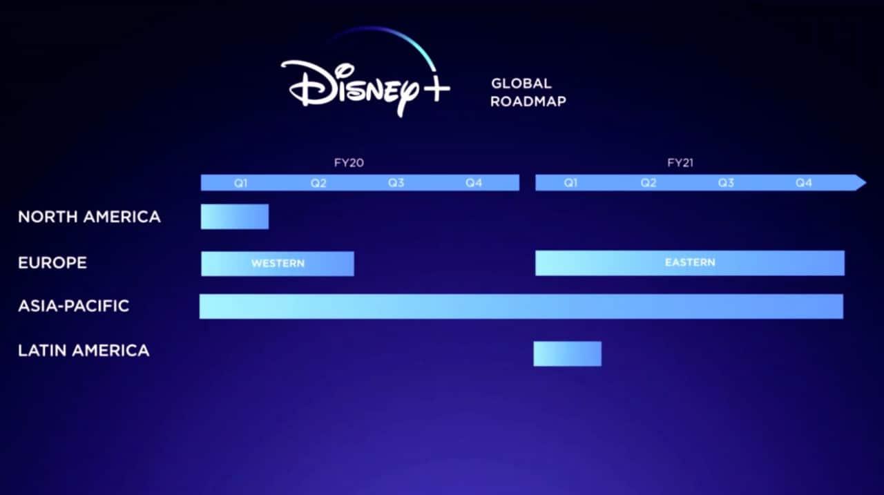 L'app Disney+ sarà disponibile su Android, iOS, Apple TV e Xbox One 1