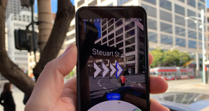 Google Maps AR Live View
