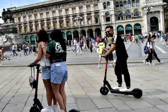 Monopattini elettrici a Milano
