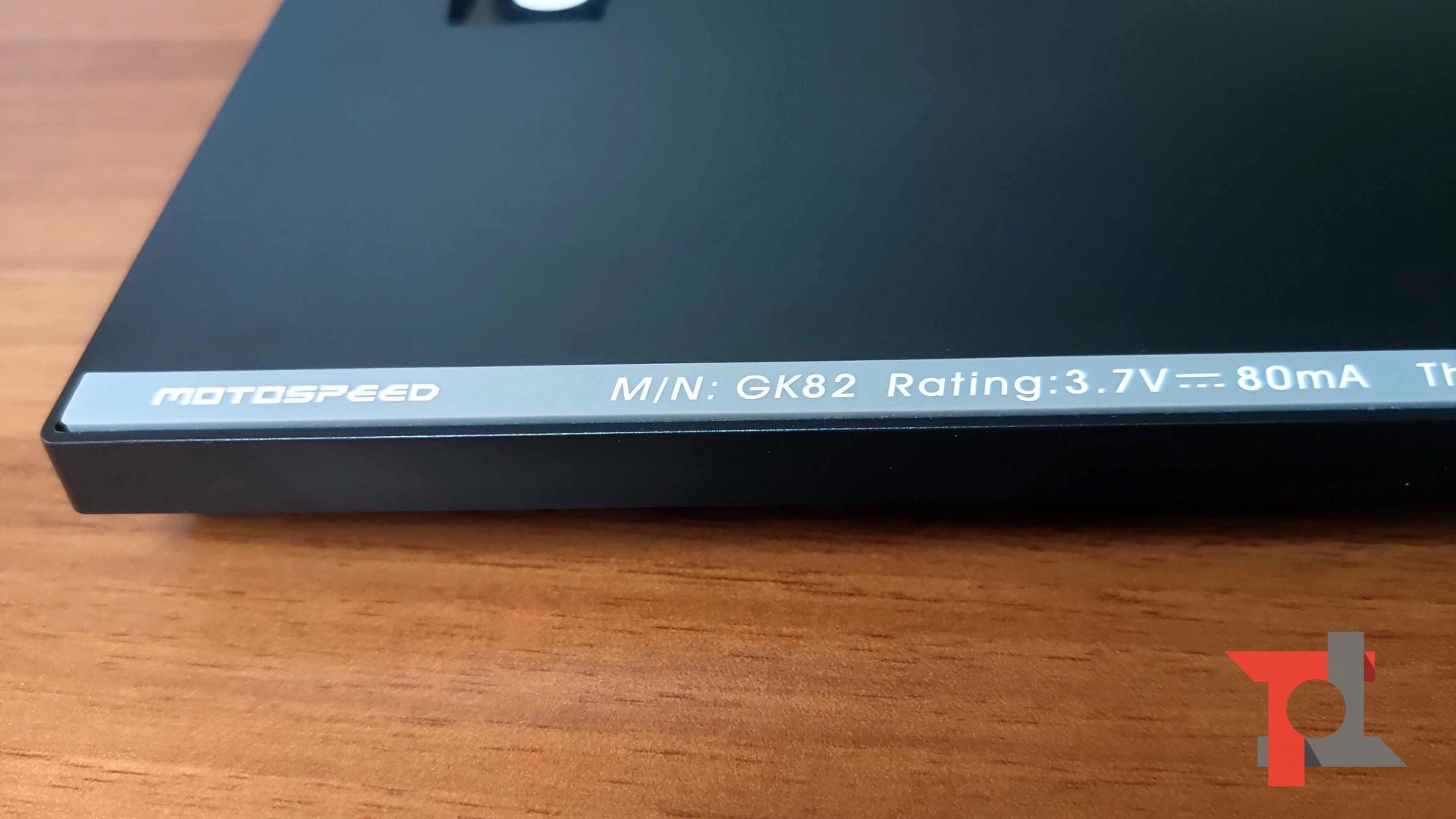 Recensione Motospeed GK82, tastiera meccanica wireless dai moltissimi pregi 9