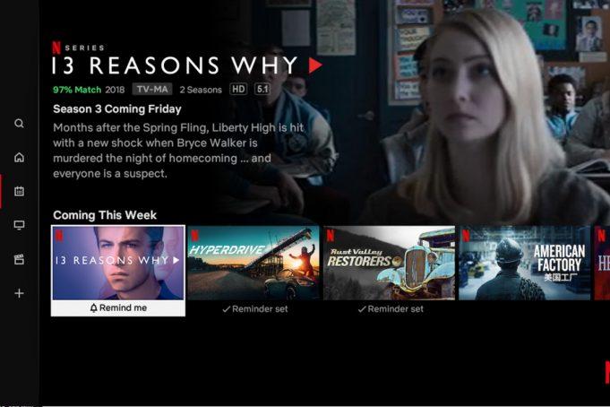 Netflix Più Recenti Smart TV