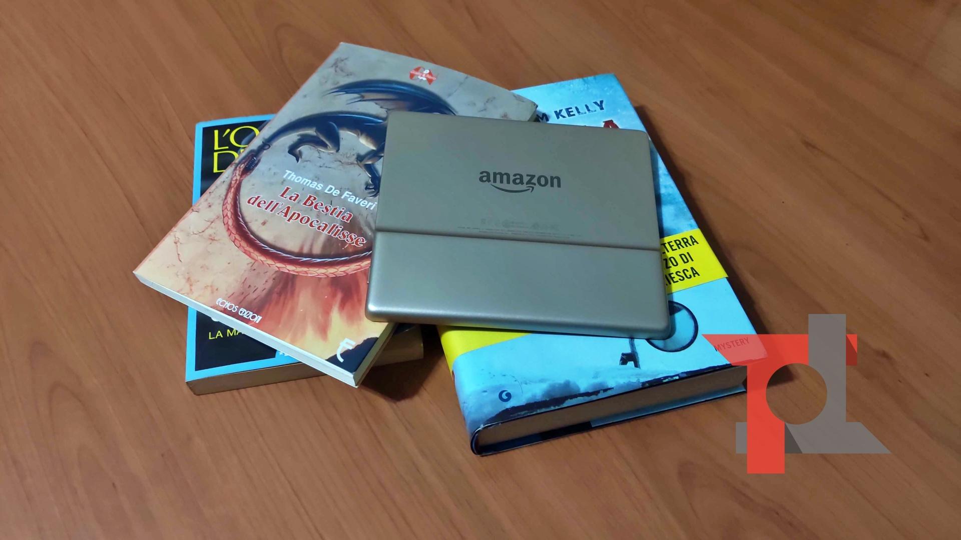 Recensione nuovo Amazon Kindle Oasis, il re degli e-reader 1