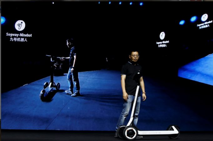 Segway-Ninebot KickScooter T60 monopattino elettrico a guida autonoma