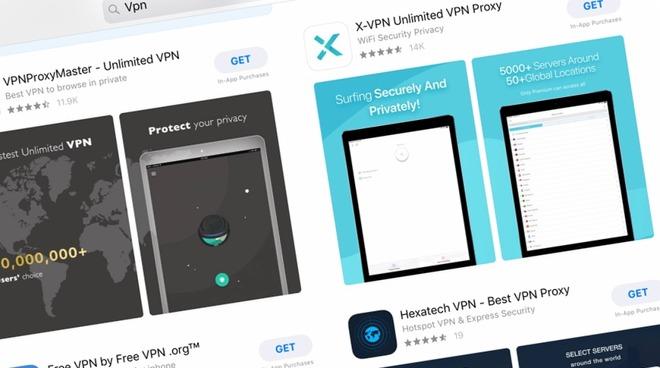Diverse app VPN segnalate per la loro insicurezza sono ancora disponibili su App Store e Play Store 1