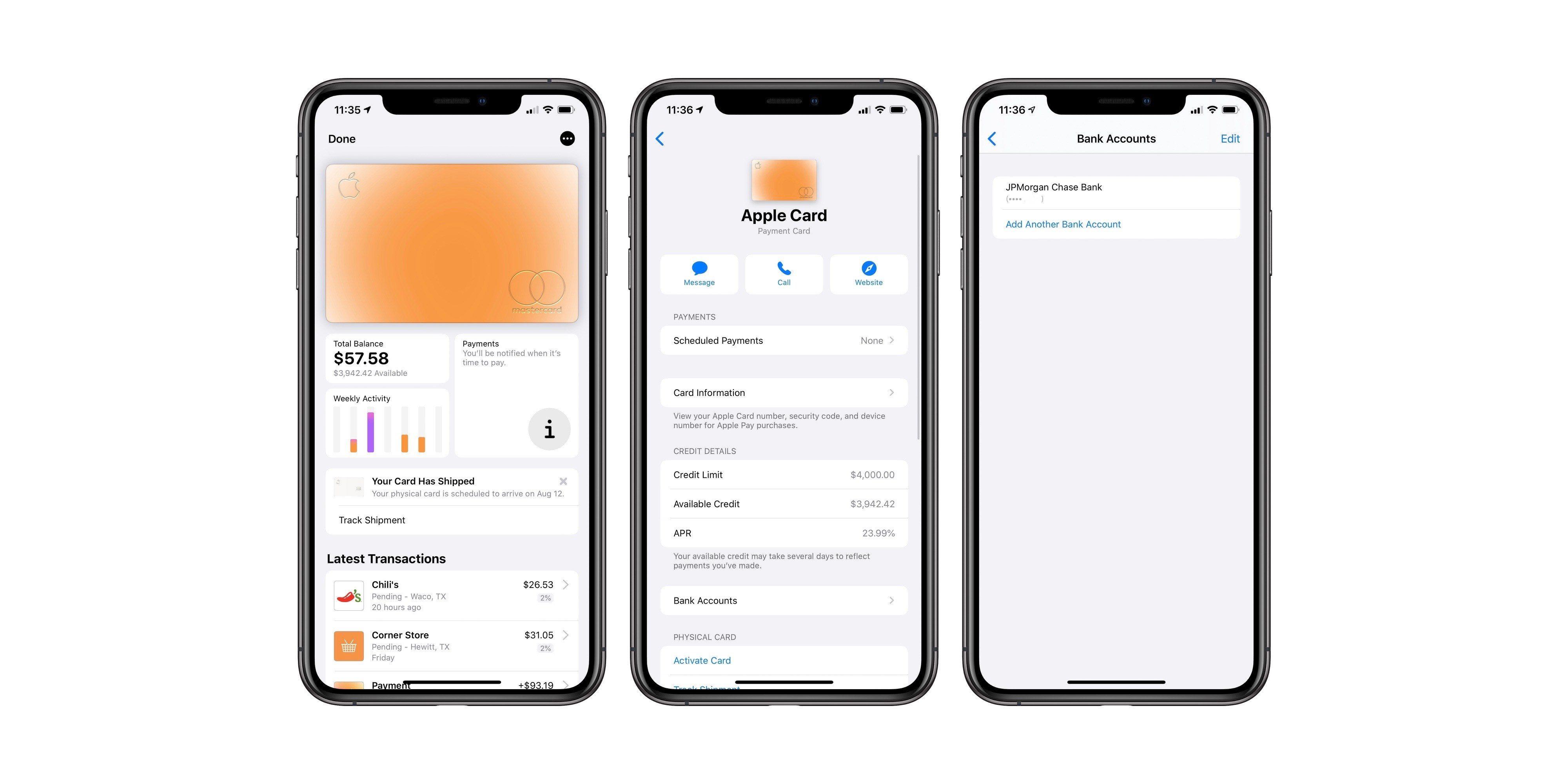 Come collegare un conto corrente alla Apple Card 1