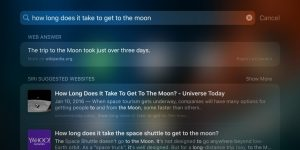 Apple al lavoro per migliorare i risultati delle ricerche su Spotlight 1