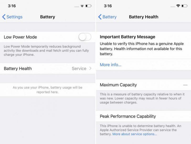 """Blocco alla sostituzione """"non autorizzata"""" della batteria sugli iPhone: ecco cosa ne pensa Apple 1"""