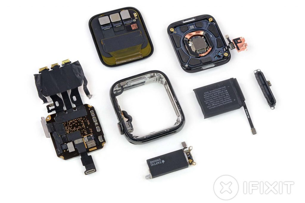 Gli interni di Apple Watch 5 sono identici a quelli di Apple Watch 4? 1