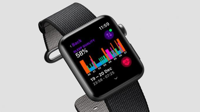 Apple Watch monitoraggio sonno