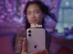 Apple iPhone 11 slofie