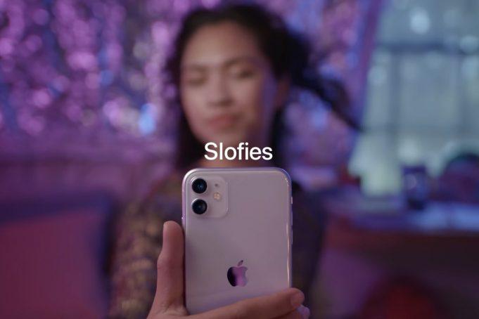 Apple iPhone 11 slofie