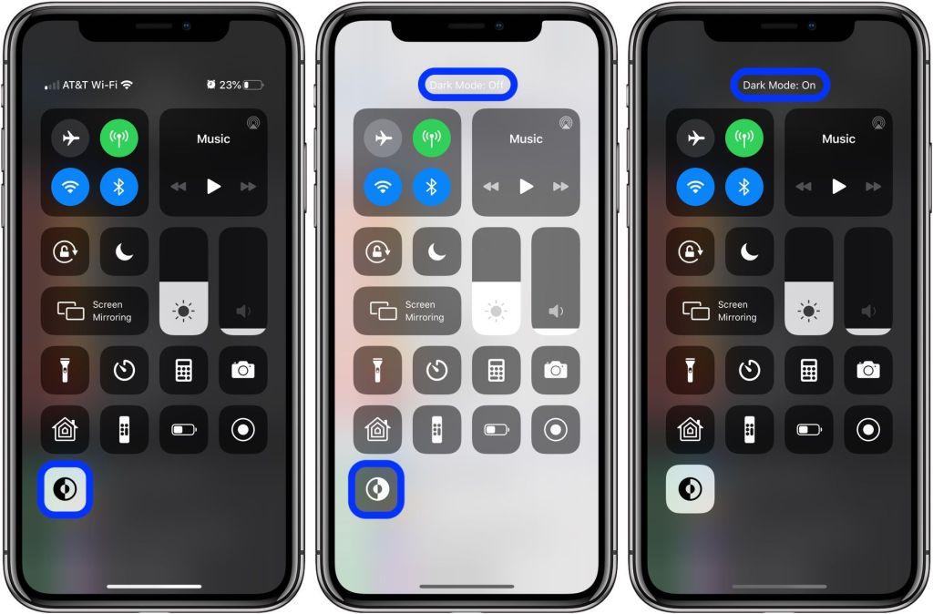 Come aggiungere la scorciatoia alla Dark Mode sul Control Center di iOS 13 2