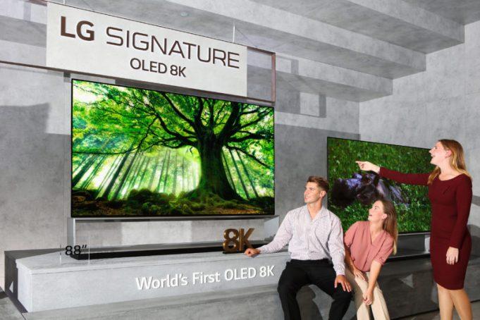 LG TV OLED 8K 75 pollici