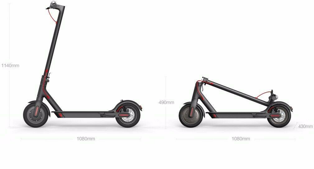 Misure Xiaomi Mi Electric Scooter