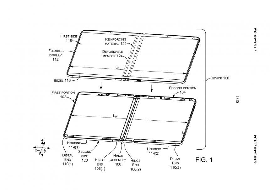 Surface Centaurus: spunta il brevetto del laptop con doppio schermo di Microsoft 1