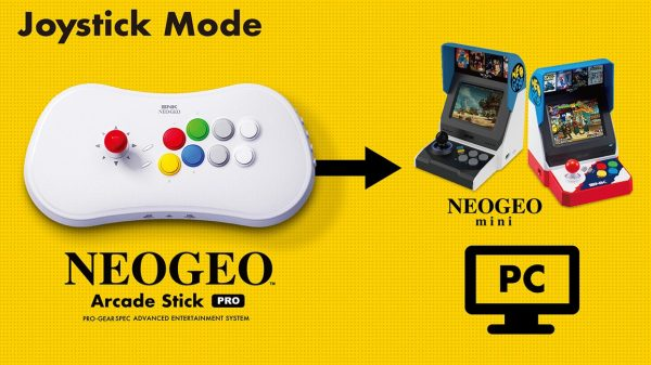Se la Neo GEO Mini non vi bastava, adesso c'è anche la Neo Geo Arcade Stick Pro 1