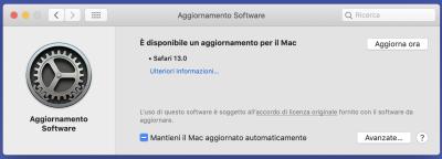 Apple aggiorna Safari su macOS alla versione 13 | Novità 1