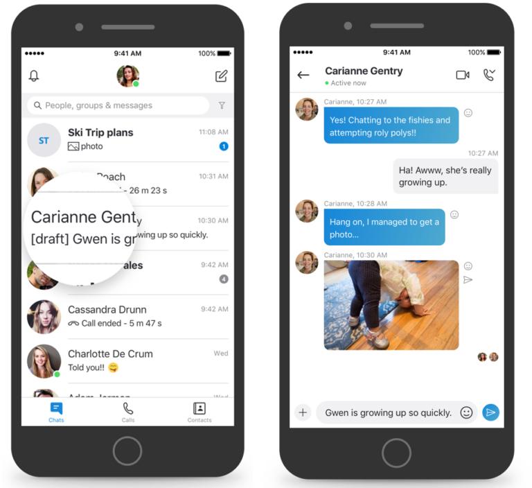 Skype si aggiorna e si arricchisce di tante nuove funzioni legate ai messaggi 4