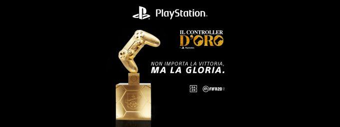 Sony Controller d'Oro FIFA 20