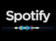 Spotify compatibile con Siri