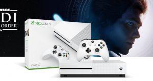 bundle di Xbox One con Star Wars Jedi: Fallen Order