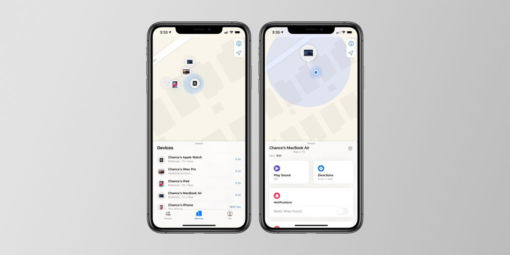 Come localizzare il proprio dispositivo Apple tramite la funzione Find My