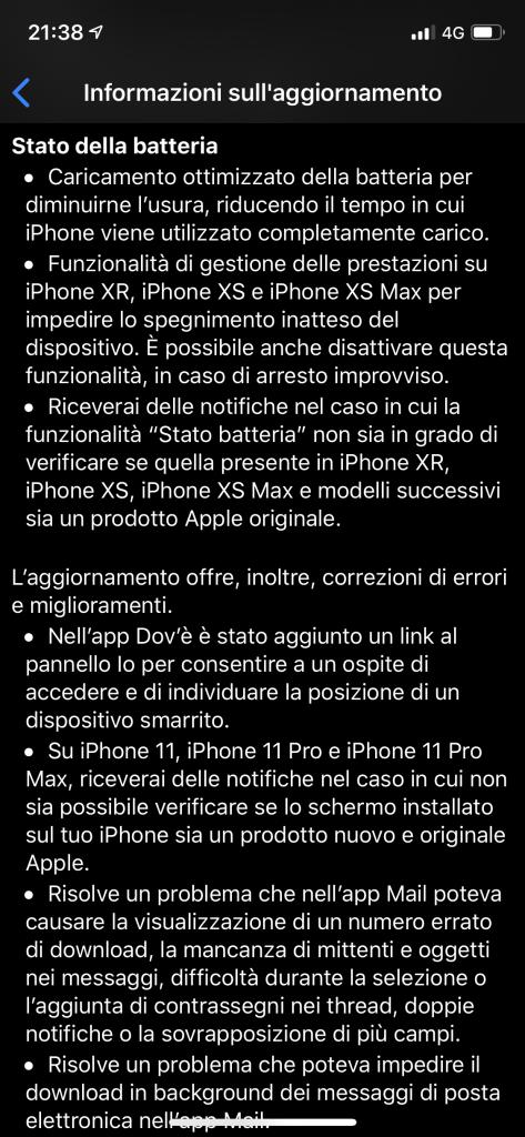 iOS 13.1 rilasciato ufficialmente da Apple 3