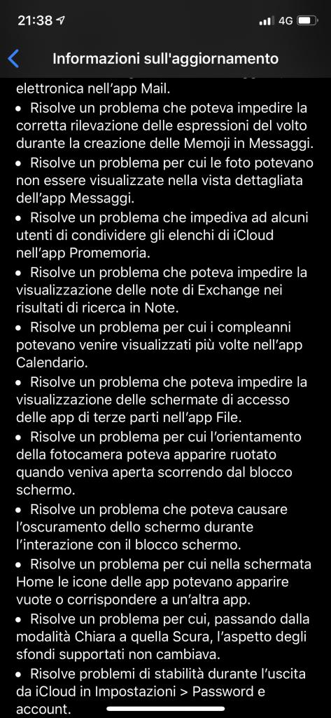 iOS 13.1 rilasciato ufficialmente da Apple 4