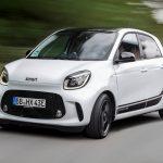 Il restyling della Smart EQ 2020 avrà solo motore elettrico 10