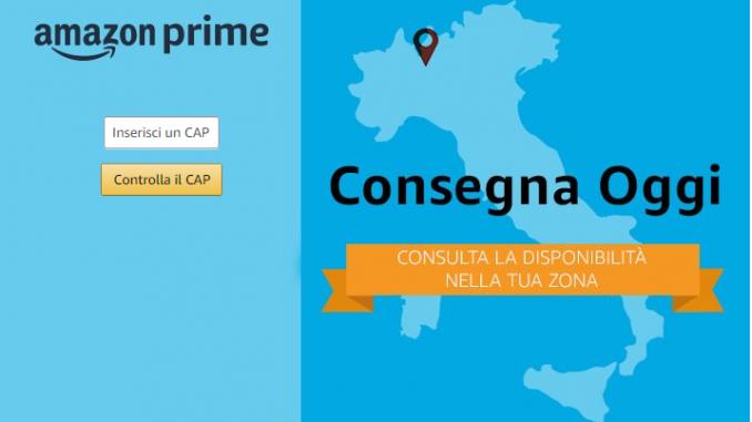 Amazon Consegna Oggi Torino