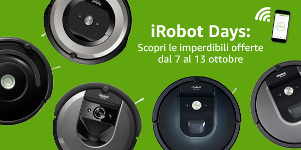 Amazon iRobot Days