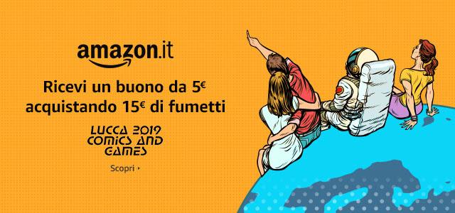 Amazon offerte Lucca Comics