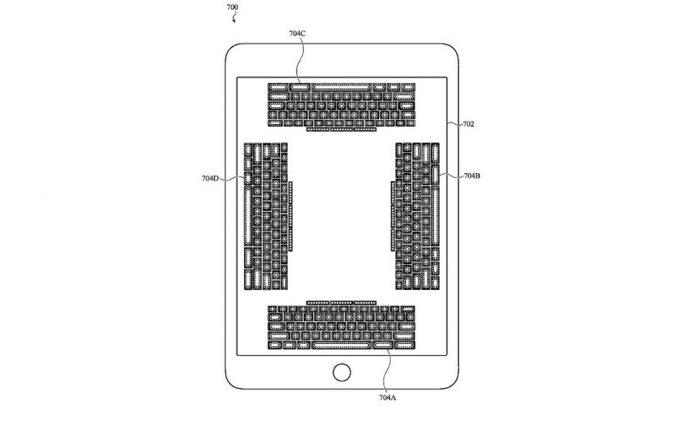 Apple brevetto tastiera sensibile al tatto