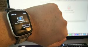 Approva con Apple Watch guida